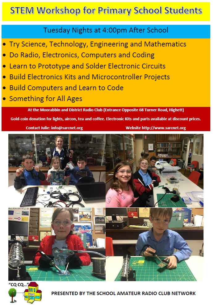 ... range of primary school students who demonstrate a real interest in  STEM. There are new activities planned for this year including programming  Raspberry ...