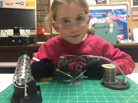 SARCNET STEM Workshop - Soldering